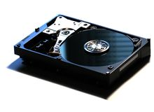 HDD On White Stock Photos