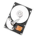 HDD on whitre Stock Photos