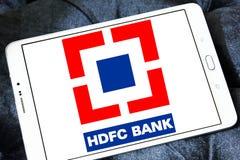 HDFC-Banklogo Lizenzfreies Stockbild