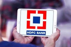 HDFC-Banklogo Lizenzfreie Stockbilder