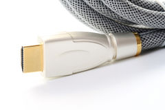 hdmi кабеля Стоковая Фотография RF