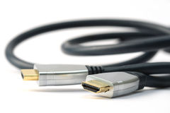 HDMI cable Royalty Free Stock Images