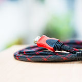 HDMI cable Royalty Free Stock Photos