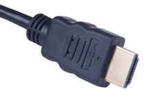 Hdmi cable sockets Stock Images