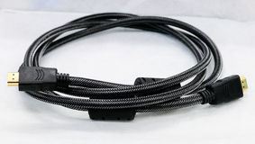 HDMI CABLE STANDLESS. FOR CONNECT TO MONITOR HDMI PORT Stock Image