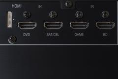 HDMI-input stock afbeelding