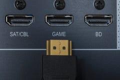HDMI input Royalty Free Stock Photos