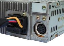 HDMI-kontaktdon med den gamla videospelaren Arkivfoto