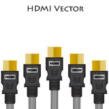 HDMI Size of Vector Royalty Free Stock Photo