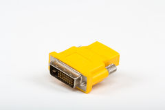 HDMI zum DVI Umformer Lizenzfreies Stockbild
