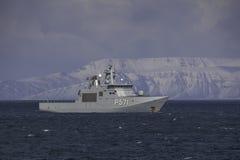 HDMS Ejnar Mikkelsen στοκ εικόνες