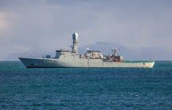 HDMS Hvidbjoernen F-360 fotografia stock