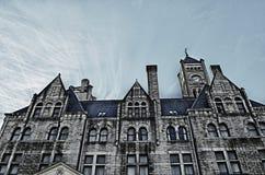 hdr ένωση σταθμών ξενοδοχείω& Στοκ φωτογραφία με δικαίωμα ελεύθερης χρήσης