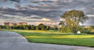 HDR - Η κοιλάδα σφυρηλατεί το εθνικό πάρκο, PA Στοκ φωτογραφία με δικαίωμα ελεύθερης χρήσης