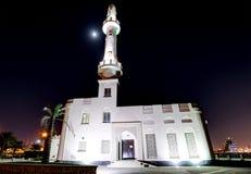 HDR του μουσουλμανικού τεμένους Muharraq corniche Στοκ Φωτογραφία