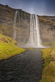 HDR των καταρρακτών στην Ισλανδία Στοκ εικόνες με δικαίωμα ελεύθερης χρήσης