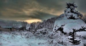 hdr χειμώνας Στοκ εικόνες με δικαίωμα ελεύθερης χρήσης