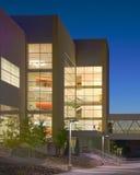 HDR здания освещенного интерьером Стоковые Фотографии RF