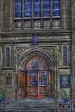 hdr церков стоковое изображение rf