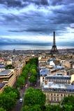 hdr Παρίσι Στοκ φωτογραφία με δικαίωμα ελεύθερης χρήσης