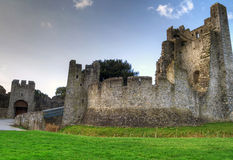 HDR of Adare Castle Stock Image