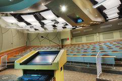HDR of Auditorium Stock Photography