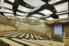 HDR of Auditorium Royalty Free Stock Images
