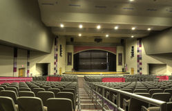 HDR of Auditorium Royalty Free Stock Photography