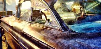 HDR automobile rustique photos stock