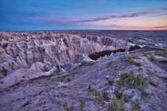 HDR Badlands Scenic Stock Image