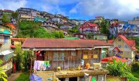 HDR Baguio Cuty, Filippine fotografia stock libera da diritti