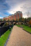 HDR Bild der modernen Wohnungen Stockfoto