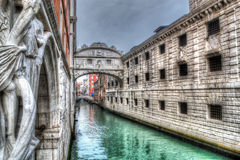 Hdr bridge Royalty Free Stock Images