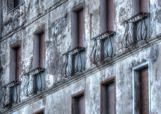 Hdr building Stock Photography