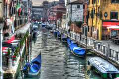 Hdr canal Royalty Free Stock Images