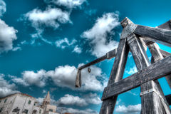 Hdr catapult Royalty Free Stock Photo