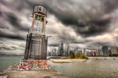 hdr chicago Стоковое Изображение