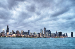 HDR of Chicago Stock Photos