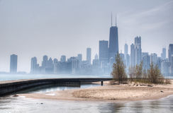 HDR of Chicago Royalty Free Stock Images