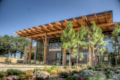 HDR of the chickasaw cultural center Royalty Free Stock Images