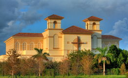 HDR-Church in South Florida Stock Photo