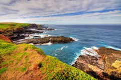 HDR of coastal area Stock Images