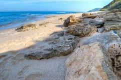 Hdr coastline Royalty Free Stock Photo