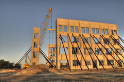 HDR of Construction of New Building Royalty Free Stock Photos