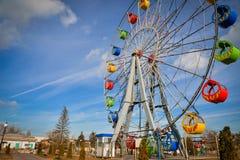 Hdr da roda de Ferris Imagem de Stock Royalty Free