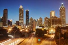 HDR de Atlanta Imágenes de archivo libres de regalías