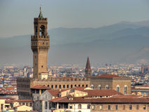 Hdr de Palazzo Vecchio Foto de Stock
