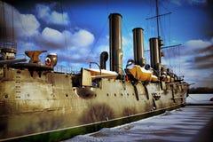 Hdr della nave Fotografia Stock Libera da Diritti