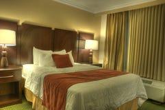 HDR di camera di albergo immagine stock libera da diritti