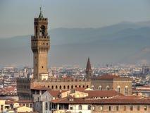 Hdr di Palazzo Vecchio Fotografia Stock